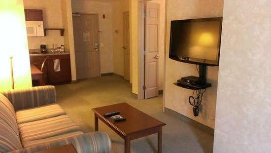 Prominence Hotel & Suites: From one corner of the room