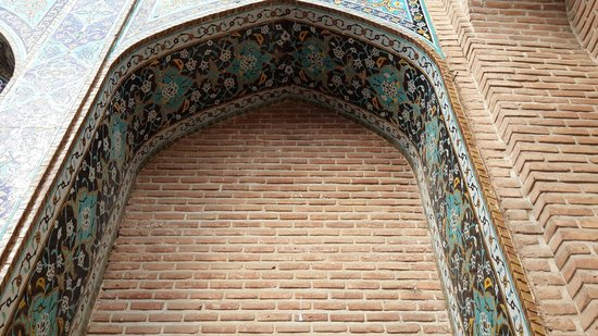 Sheikh Safi al-din Khanegah and Shrine Ensemble: A wall...