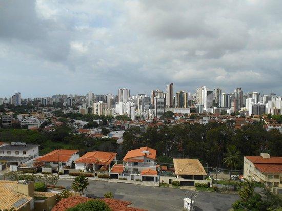Mercure Salvador Boulevard: Vista do apto Mercure