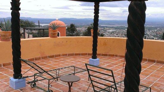 Casa Frida B&B: Terrace