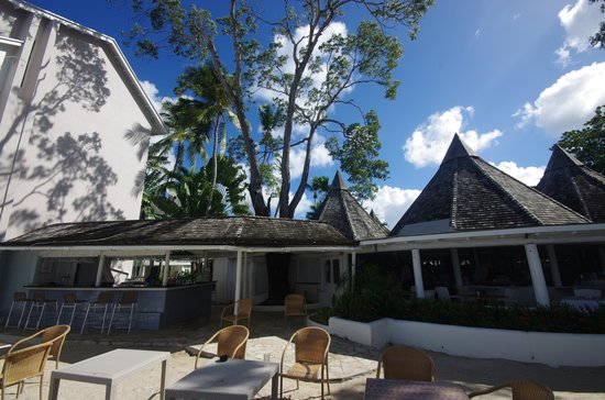 The Club, Barbados Resort and Spa: Sunset restaurant
