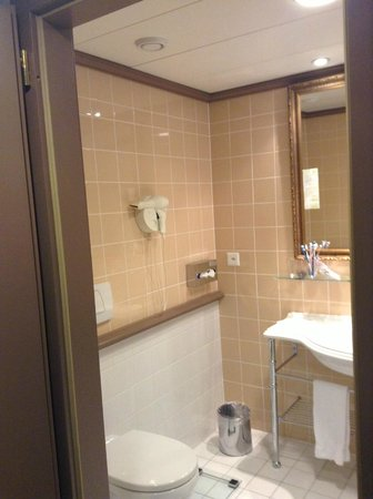 Hotel Royal - Manotel Geneva : Bathroom
