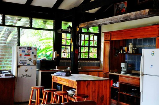 Jaco Inn: The kitchen