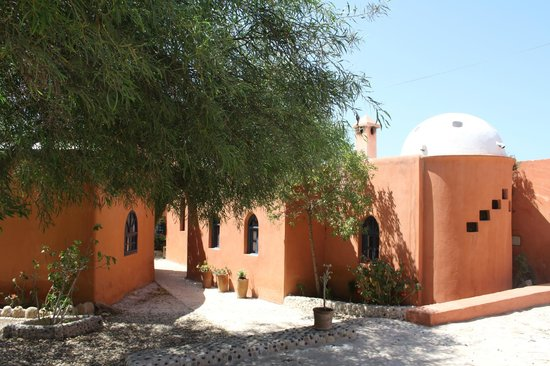 Riad Baoussala: the walkway between rooms