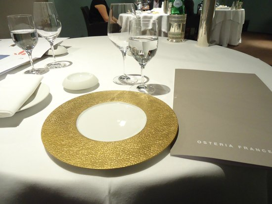 Osteria Francescana : la table