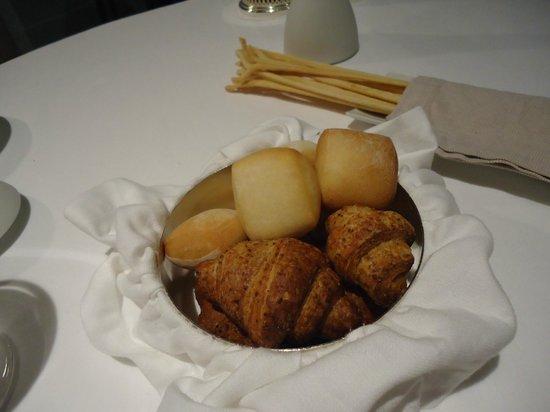 Osteria Francescana : pain et grissini