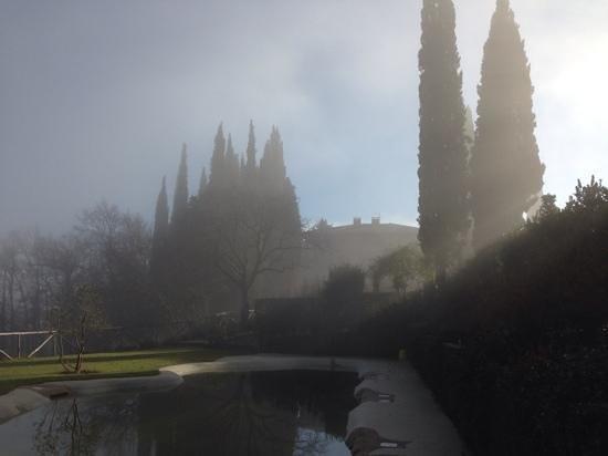 Villa Armena: la villa se reveillant le premier janvier 2014