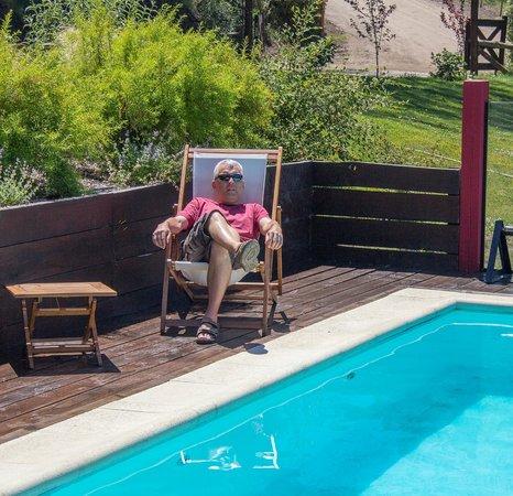 Casona DelAlto: Pool area