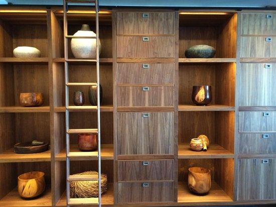 Cabinets inside Ka'ana Kitchen