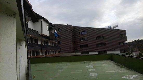ALPIN Hotel Resort & Spa: our balcony