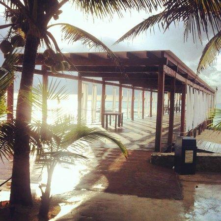 El Dorado Royale, by Karisma: Pier (where we did Yoga)