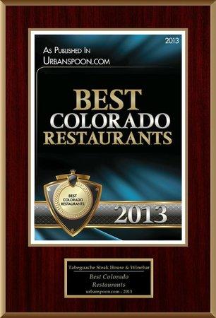 Tabeguache Steak House: Colorado Finest