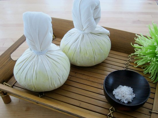 Serenity Salon: Monthly special - thai herbal ball.