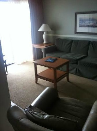 Rivertide Suites : Living room