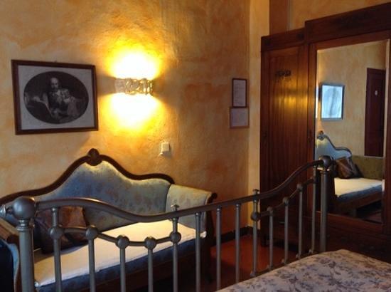 La Bandita Hotel Siena: la camera dove abbiamo dormito