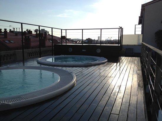 Hotel Barcelona Center: Poolterrass