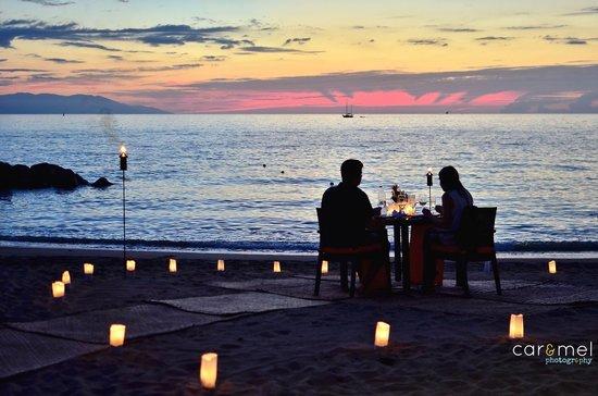 Arrecifes Seafood & Steakhouse: Cenas Románticas