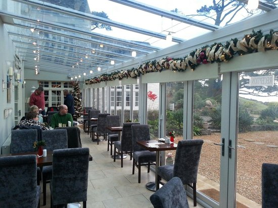 Talland Bay Hotel: Beautiful conservatory!!!