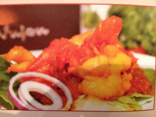 Vujon - Contemporary Indian Cuisine: King prawn pakeezah one of the special dish of vujon