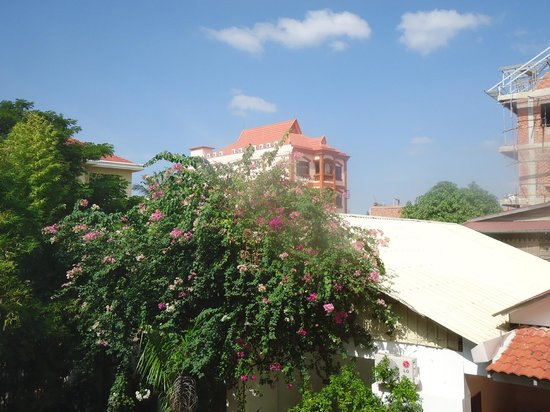 The Villa Siem Reap : View from room 207