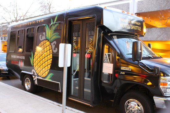The Maxwell Hotel - A Piece of Pineapple Hospitality: pineapple shuttle (free)