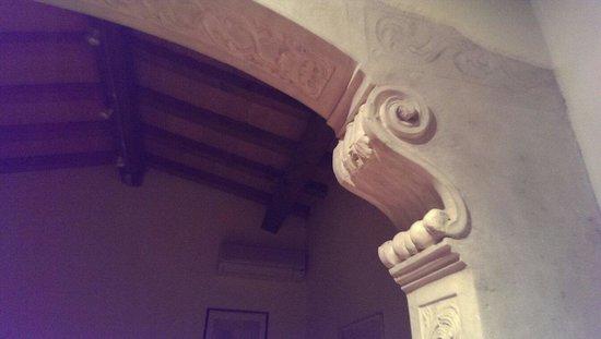 A Casa di Andrea Bed & Breakfast: Dettaglio della volta,a metà della Camera