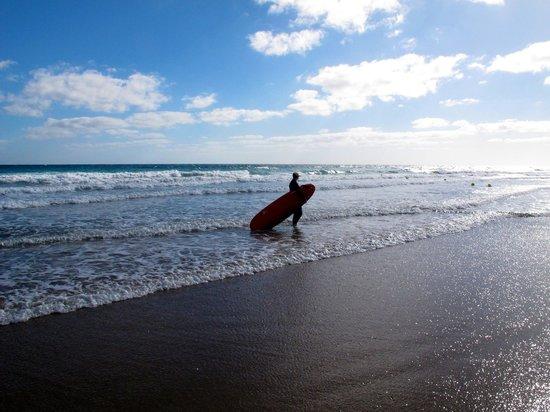 Sheraton Fuerteventura Beach, Golf & Spa Resort : Surfing for all levels