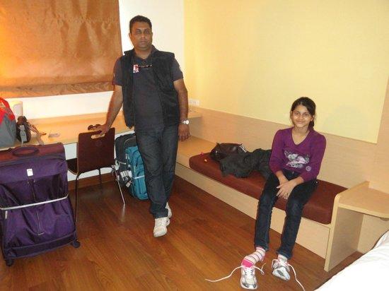 Ibis Pattaya: Inside room