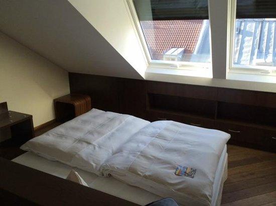 Hotel Deutsche Eiche: Doppelbett