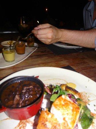 El Farallon: Mmmm lovely fish main course