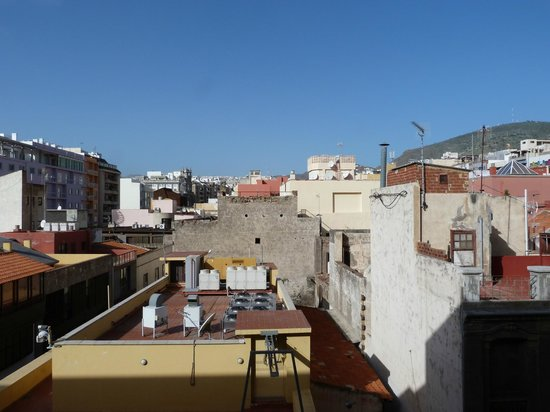 NH Tenerife: direct view from room 406