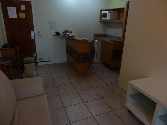 Mercure Fortaleza Meireles Hotel: kitchen/living room