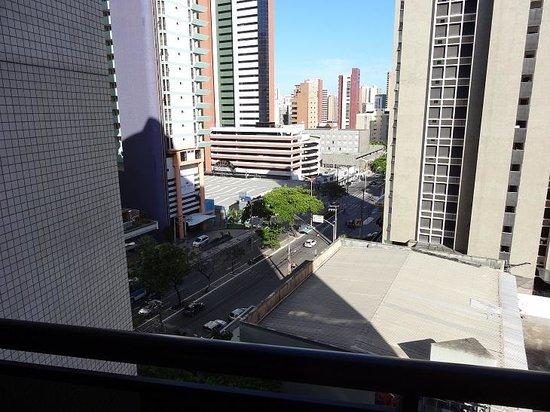 Mercure Fortaleza Meireles: view from the window