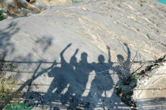 Double Decker Living Root Bridge : thts us