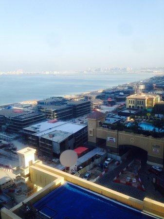 JA Ocean View Hotel: Building work