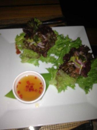 Viceroy Anguilla: food not at hotel