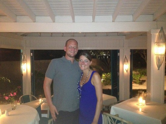 Four Seasons Resort and Residences Anguilla: me and my wife