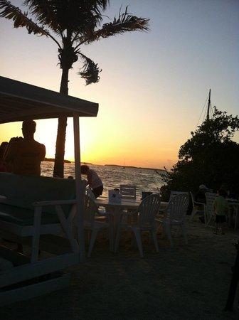 Lorelei Restaurant & Cabana Bar : Beautiful Sunset