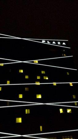 Radisson Blu Plaza Hotel Ljubljana: Vista esterna hotel