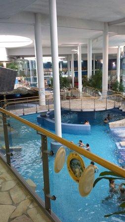Radisson Blu Plaza Hotel Ljubljana: Una parte della spa convenzionata