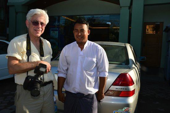 Hotel Yadanarbon: our VERY EXCELLENT driver