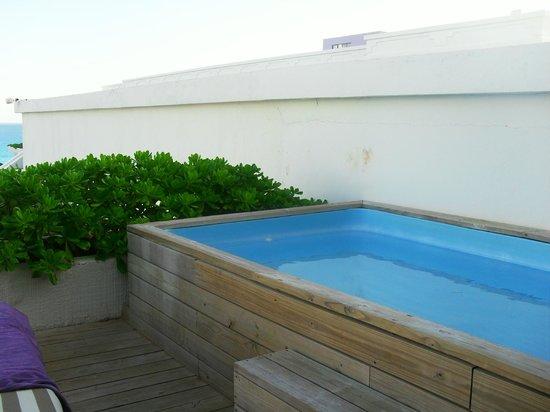 suite sian kaan piscine sur balcon picture of grand oasis sens cancun tripadvisor. Black Bedroom Furniture Sets. Home Design Ideas