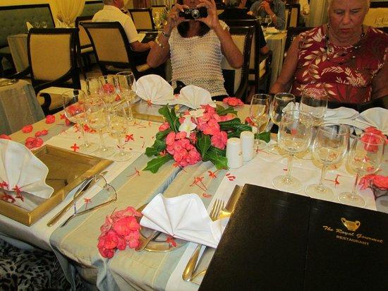 Grand Palladium Bavaro Suites Resort & Spa : Our table at the Royal Gourmet