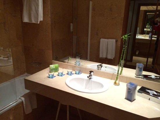 Tryp Madrid Cibeles Hotel: Bad