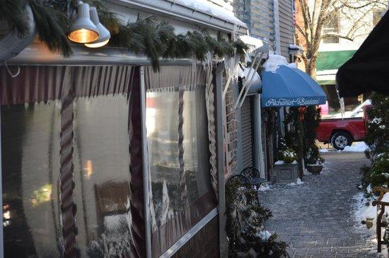 The Alchemist & Barrister Restaurant: as seen from Nassau Inn