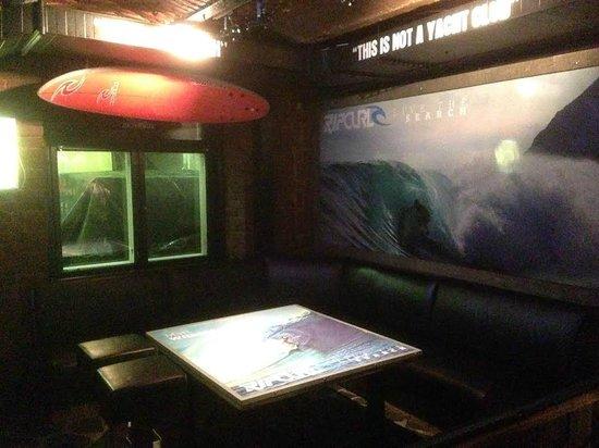 Club Aussie Bar - Helsinki : The Rip Curl Corner in the Street bar