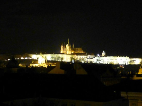 Prague City Apartments Residence Karolina: night view from the room - no 51