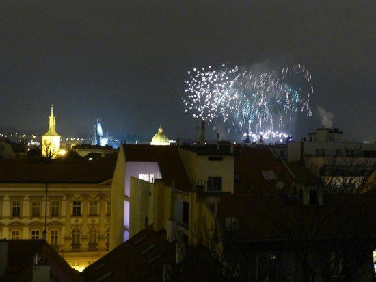 Prague City Apartments Residence Karolina: firework from window - no 51