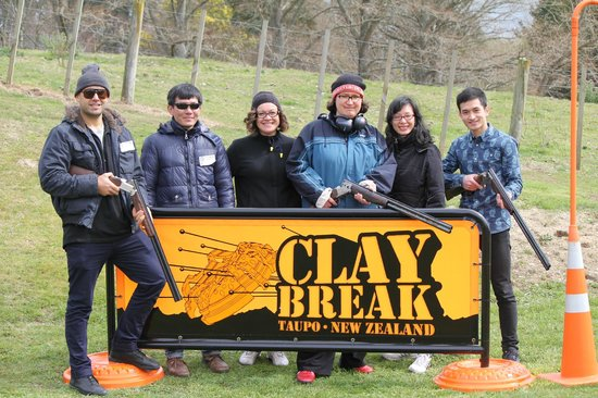 Clay Break Taupo