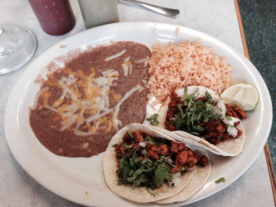 """Naya's Taqueria: Tacos aka """"street tacos"""""""